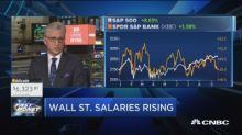 Wall Street salaries at their highest levels since the fi...