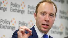 Matt Hancock Hints NHS A&E Waiting Times Could Be Scrapped