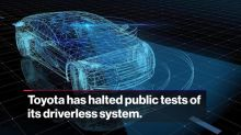 Toyota Stops Testing Driverless Car After Uber Crash