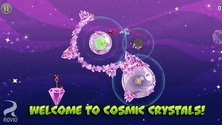 Angry Birds Space gets new Cosmic Crystals update