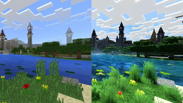 'Minecraft' looks like a completely different game in 4K