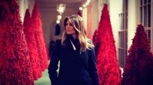 Melania Trump slammed for showing off 'historically ludicrous' Christmas decor while children are tear-gassed at border: 'What a great way to start the holiday season'