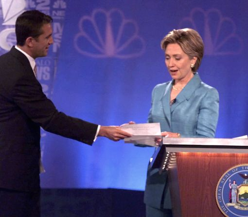 Clinton's debate experience could shape encounter with Trump