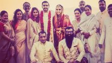 Here's the First Group Picture from Ranveer and Deepika's Wedding