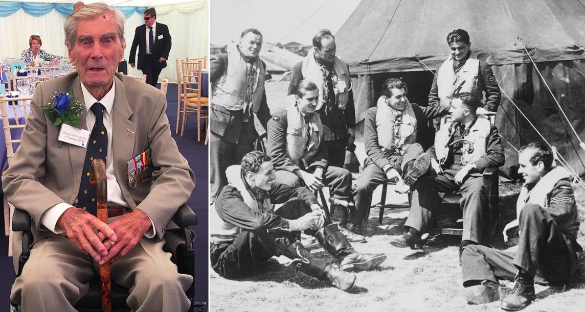 Hero Battle of Britain fighter pilot dies aged 101