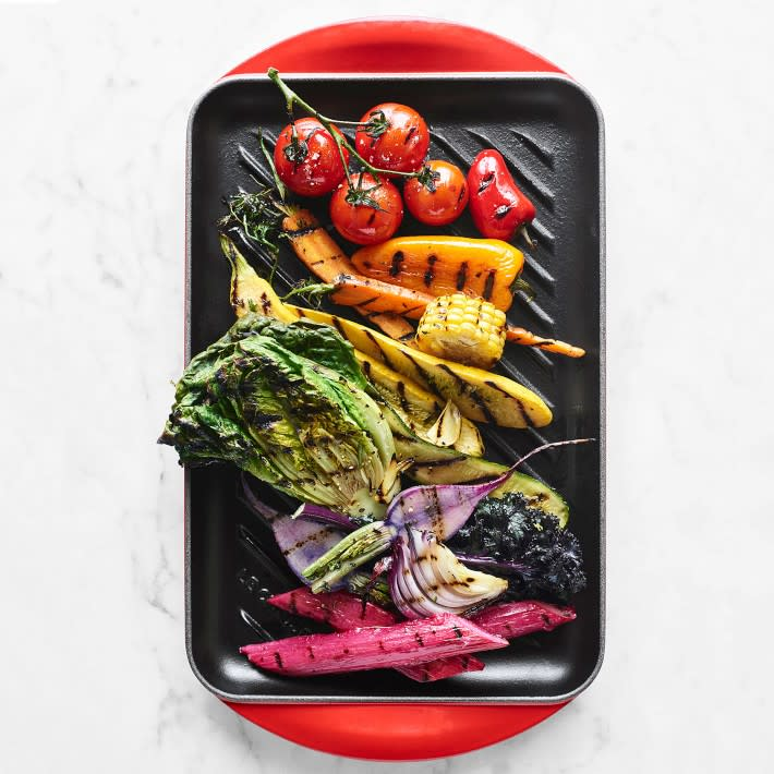 new Le Creuset grill pan