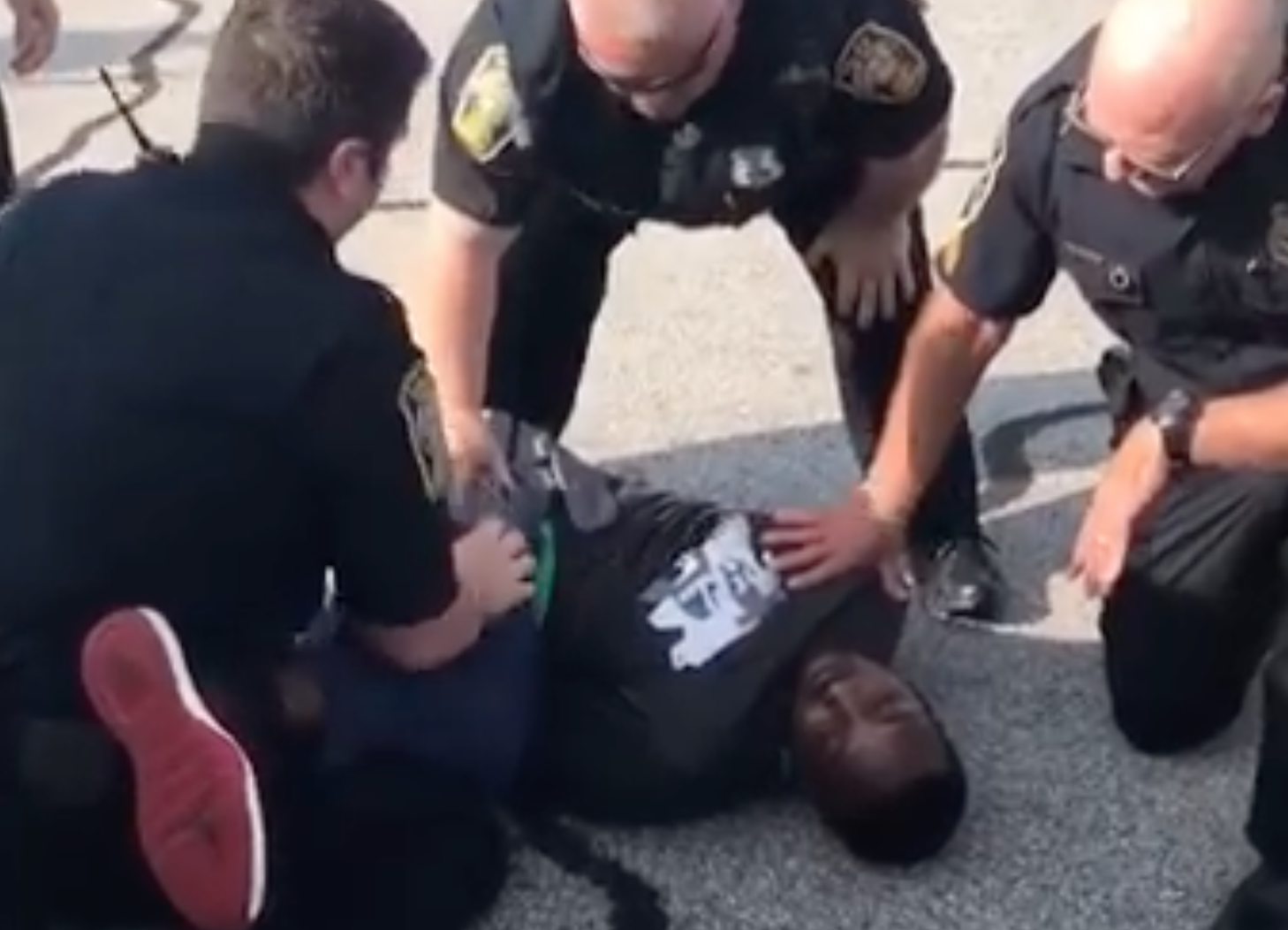 Video: Former NFL player slammed to ground during arrest