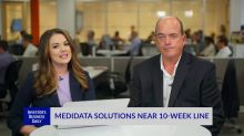 Medidata Solutions Near 10-Week Line