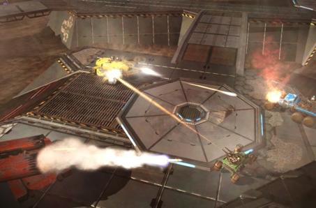 Red Faction's Battlegrounds open up in Europe this April