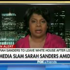 Media attacks Sarah Sanders after she announces her departure
