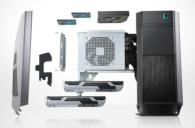 Alienware banks on VR with the new Aurora desktop