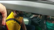 Media Attacks Pithani & his Car Before he gets out Of the Car