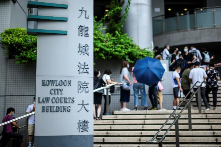 The city's judicial system is struggling under the strain as Hong Kong lurches through a political crisis that shows no sign of ending (AFP Photo/Anthony WALLACE)