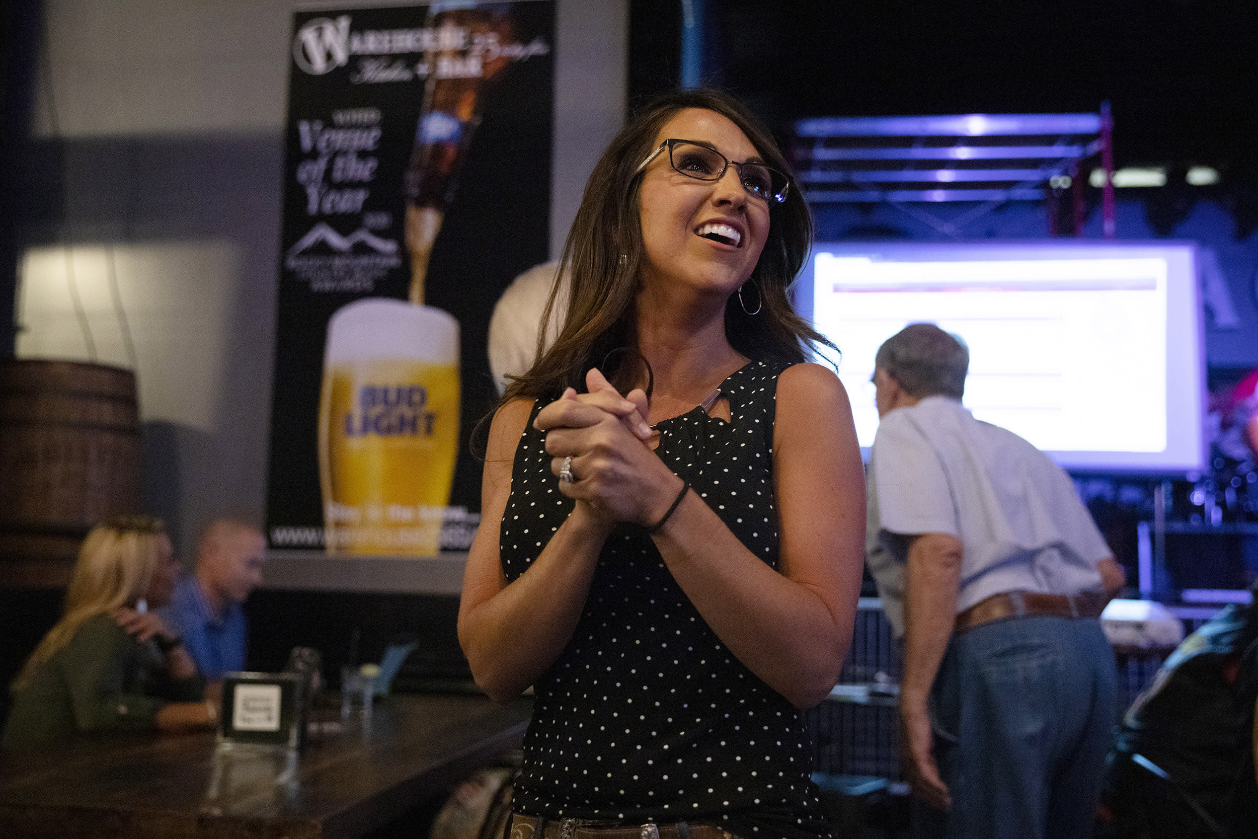 Lauren Boebert fought the lockdown, carries a pistol and hopes QAnon is real. And she just won a GOP primary.