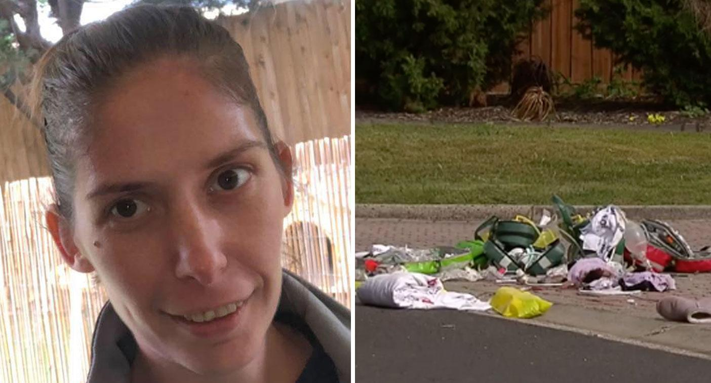 Pictured: Pregnant mum killed in fall from moving car as man is charged