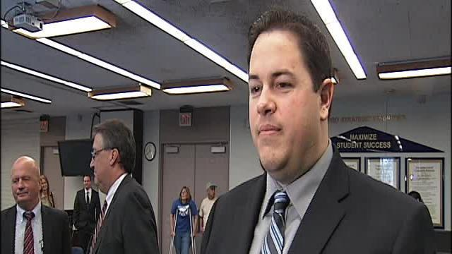 Chad Vegas talks with 23ABC about Dr. Schaefer assuming the role as KHSD Superintendent