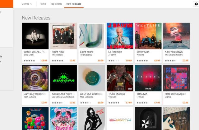 Google Play Music's Artist Hub shuts down on April 30th