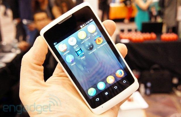Firefox OS shows up on a mystery phone, we go hands-on (update: now with video!)