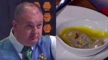 Jacquin surta com a 'pior sobremesa do MasterChef': 'Vômito de bebê'