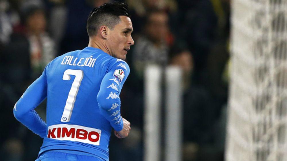 """Callejon carica i tifosi del Napoli: """"Contro la Juventus un San Paolo strapieno"""""""