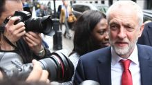 Jeremy Corbyn promises there'll be 'no more hand-holding with Donald Trump' if he becomes PM