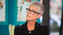 Jaime Lee Curtis on Fox News criticism of her using weapons in a movie, despite advocating for gun control: 'It was just silly'