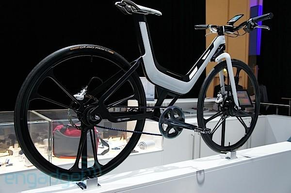 Ford electric E-Bike Concept packs a Galaxy S II on the bars, motor in the wheel