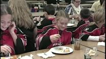 Lewiston and Portland Junior Pirates share Thanksgiving dinner with homeless teens