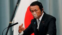 Japan finance minister shrugs off calls for big stimulus spending on pandemic