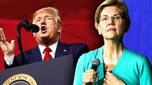 Trump threatens Warren with death by 'Pocahontas,' again