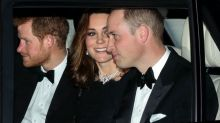 Princess Kate dazzles in Queen Elizabeth's necklace, also worn by Princess Diana, for 70th anniversary party