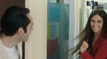 Mira a Cristina Pedroche debutando como actriz y de la mano de Santiago Segura