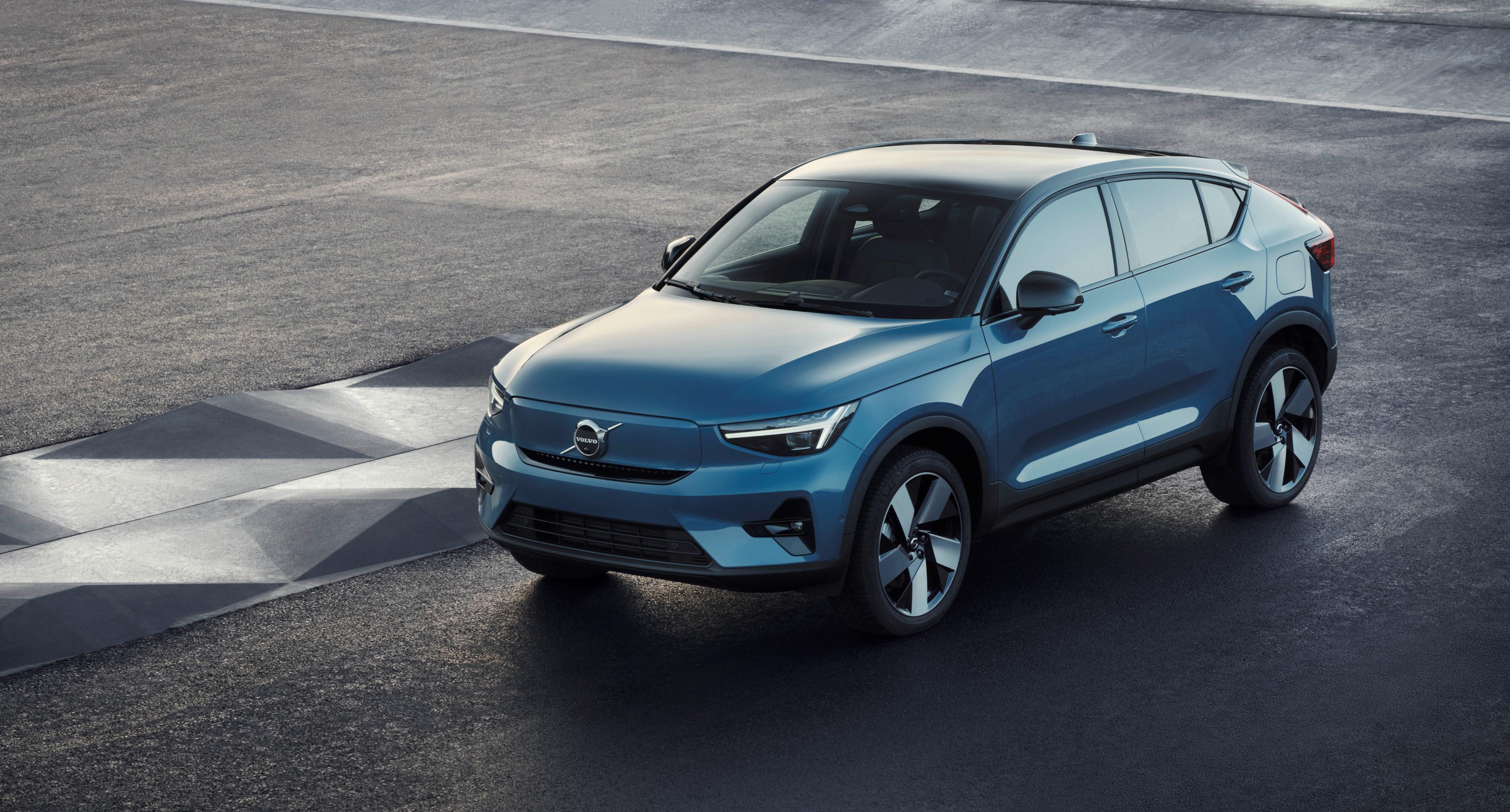 The 2022 C40 Recharge will be Volvo's first leather-free EV   Engadget