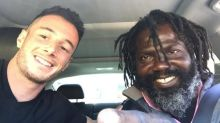 California man helps homeless man living in tent find a job