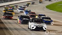 What time and channel is the Kansas NASCAR Cup race Thursday