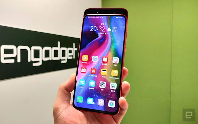 Honor's Magic 2 is yet another notch-free slider phone