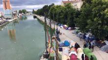 ''Un dépistage de masse, ce serait pas mal'': dans le camp de migrants d'Aubervilliers, la crainte d'un nouveau foyer de contamination au coronavirus