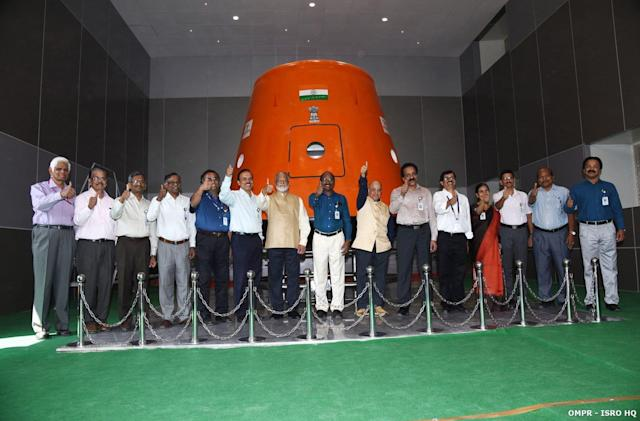 India will launch a humanoid robot ahead of its first crewed space mission