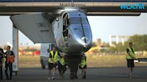 SOLAR POWERED PLANE GOES NON-STOP FROM JAPAN TO HAWAII WITHOUT USING A DROP A FUEL