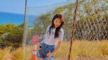 韓國女團Red Velvet成員Yeri夏威夷拍時裝雜誌寫真