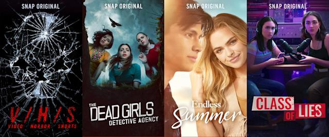 Snap takes on Netflix with new short-form 'Originals'