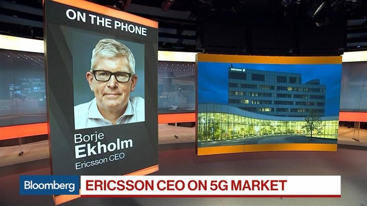Ericsson's CEO Sees Dramatic Acceleration of Demand for 5G Technology