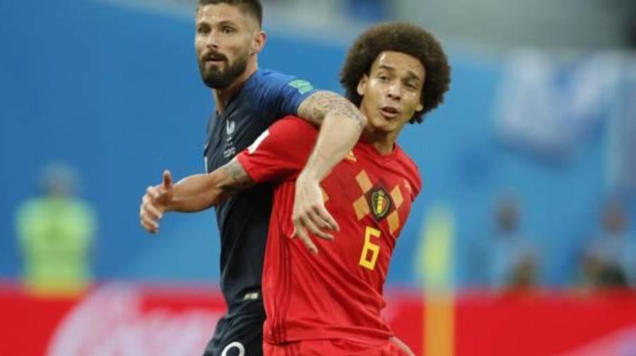 Foot - Euro - BEL - Roberto Martinez (Belgique) veut retenir Axel Witsel pour l'Euro