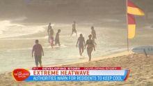 Australia suffers through continued heatwave
