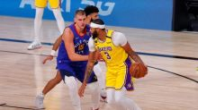 Lakers dominate Nuggets in NBA Western finals opener