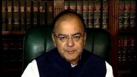 Jaitley reacts strongly to PM's comment on economy