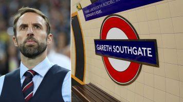 Tube station renamed after Gareth Southgate