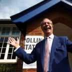 Nigel Farage says Brexit Party on course for big EU election win
