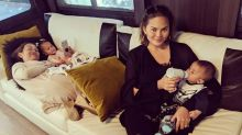 Chrissy Teigen had the best response to troll who tried to mom-shame her about breastfeeding