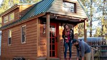 A couple has lived in a 130-square-foot tiny house for 5 years — here's what a typical week looks like for them